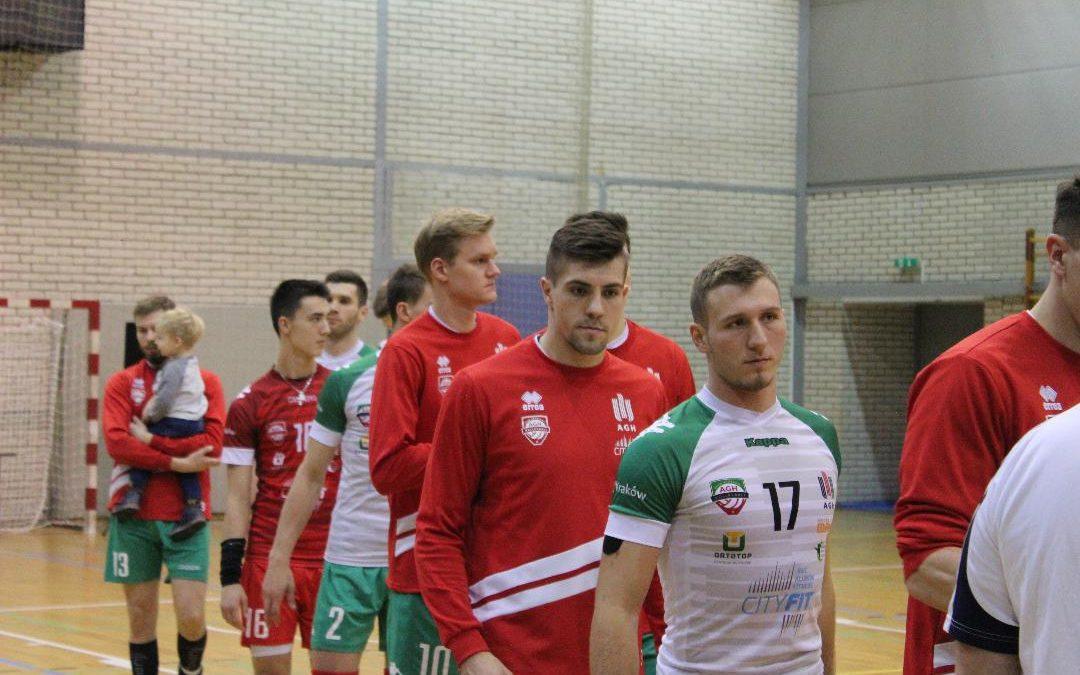 AZS AGH Kraków 1 – 3 KPS Siedlce