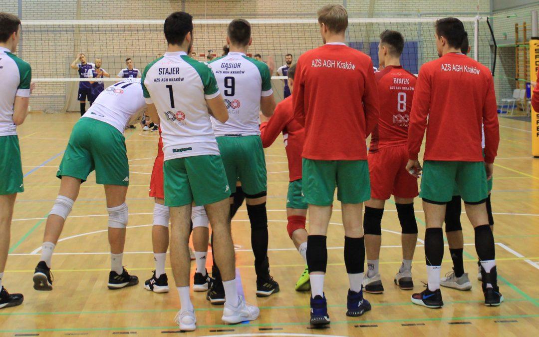 AZS AGH Kraków 3 – 1 AZS Tauron Częstochowa