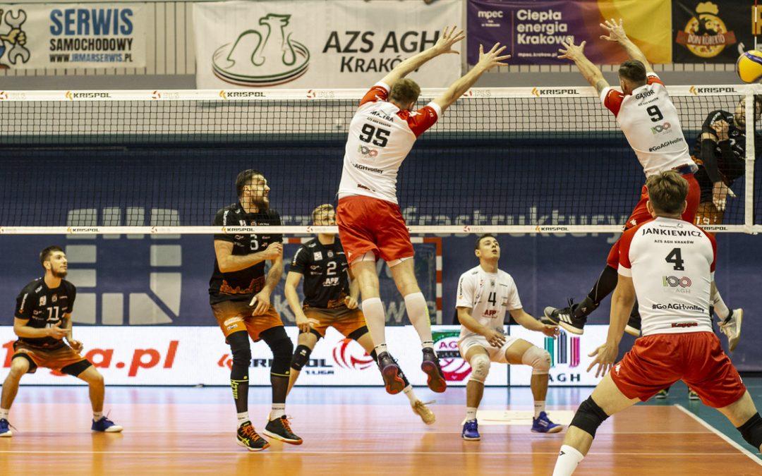 APP Krispol Września 3 – 2 AZS AGH Kraków