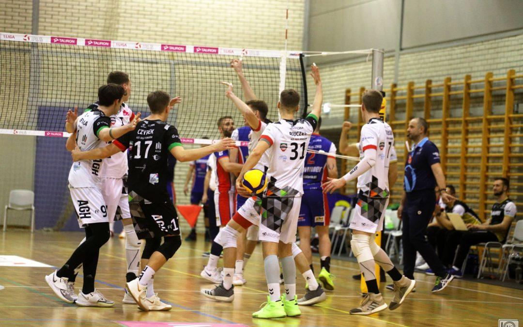 Olimpia Sulęcin 2 – 3 AZS AGH Kraków