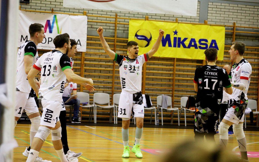 AZS AGH Kraków 3 – 1 eWinner Gwardia Wrocław