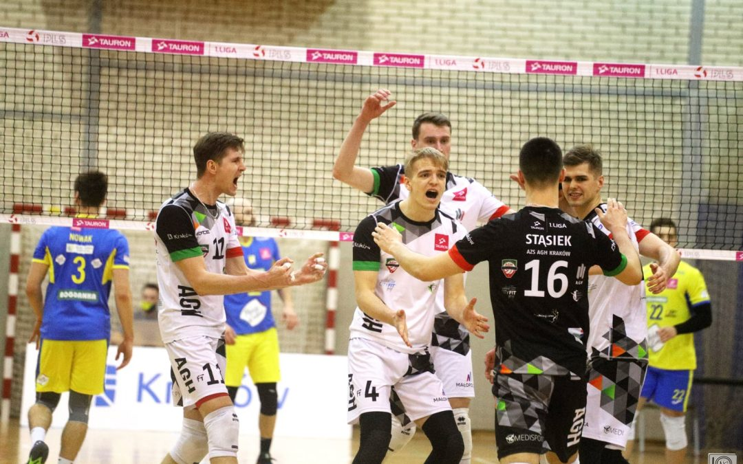 AZS AGH Kraków 0 – 3 LUK Politechnika Lublin