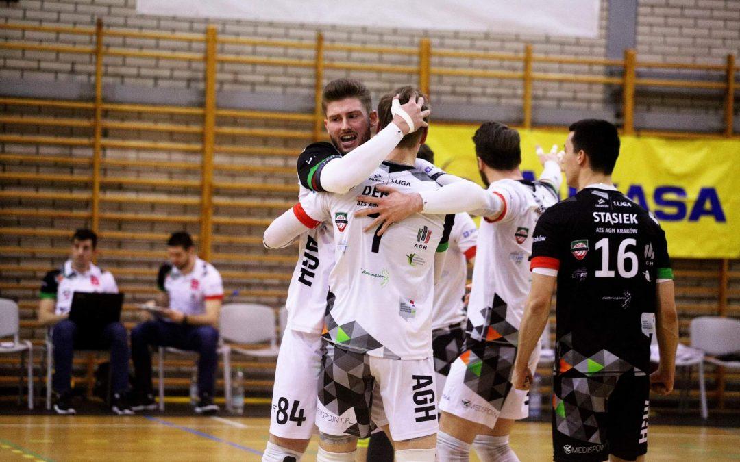 AZS AGH Kraków 3 – 1 MCKiS Jaworzno