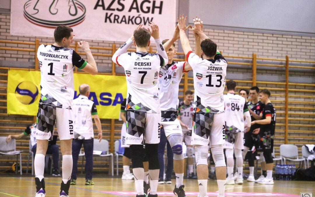 AZS AGH Kraków 3 – 1 BBTS Bielsko-Biała